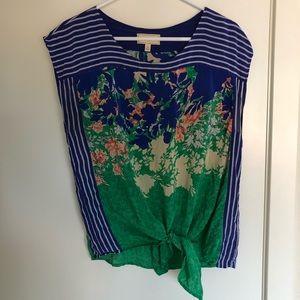Anthropologie Molinette Soeurs 100% silk blouse